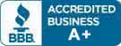 We are members of the Better Business Bureau. BBB accredited business logo